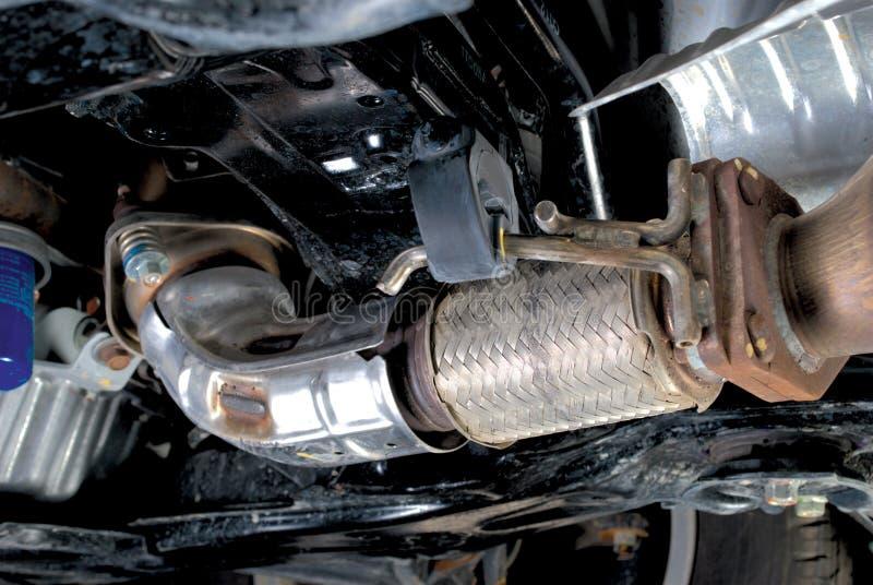 Przewód tubki w Wydmuchowym Supension systemu obrazy stock