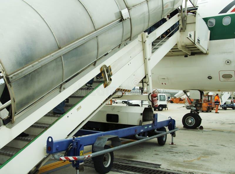 przewóz statku powietrznego fotografia stock