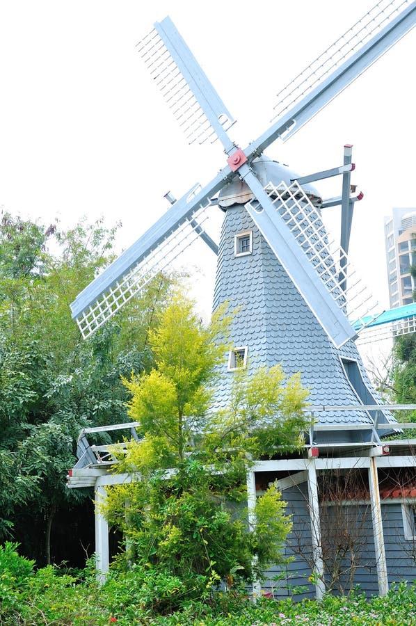 Przewężenie imitacja Holandia wiatraczek obraz stock