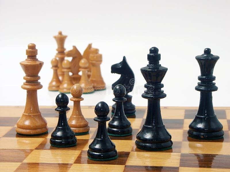przewaga czarny s obraz royalty free