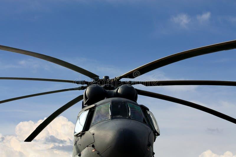 Przewieziony helikopter zdjęcie royalty free