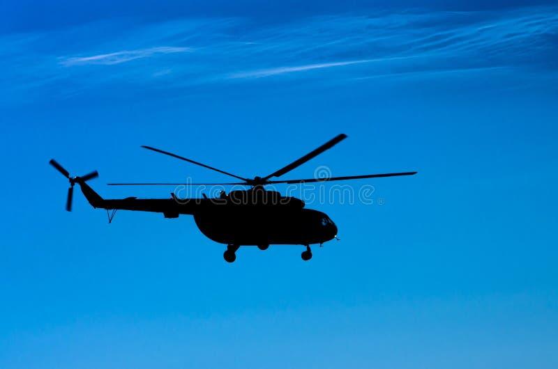 Przewieziony helikopter Mi-8 zdjęcia royalty free