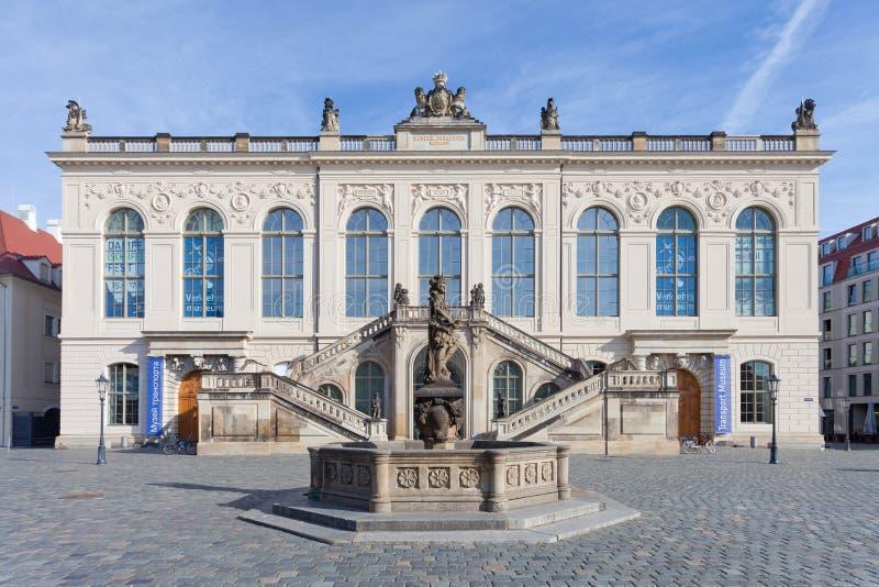 Przewieziony muzeum obraz stock
