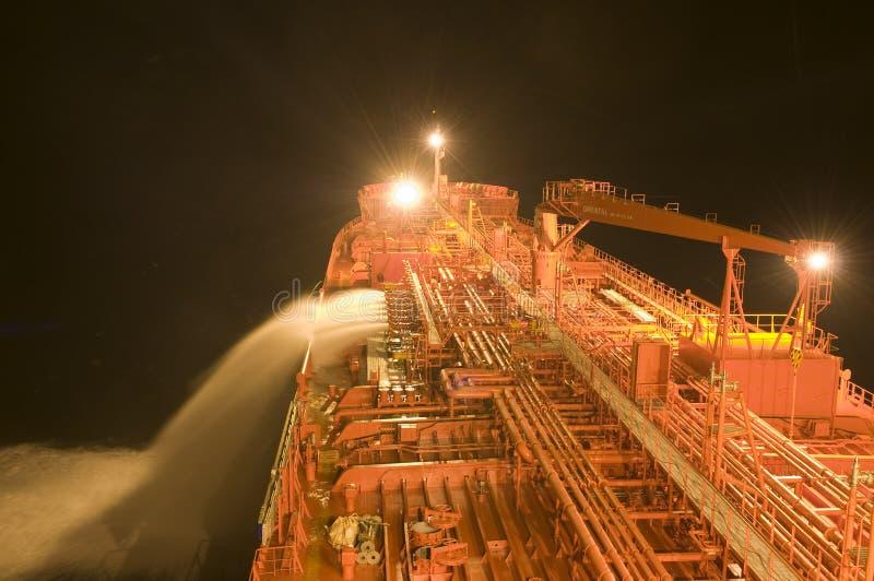 przewoźnika ropy naftowej statku tankowiec zdjęcie stock
