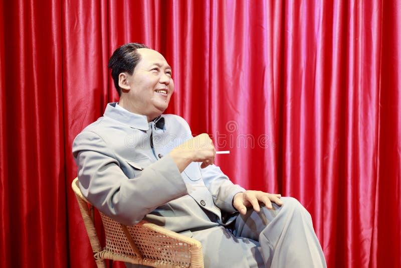 Przewodniczącego Mao wosku postać obrazy royalty free