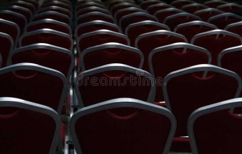 przewodniczący konferencji pusta komora ciemności zdjęcia royalty free