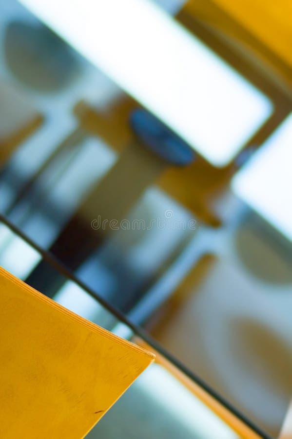 przewodniczy stolik numer dwa obrazy stock