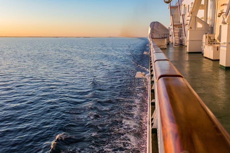 Przewozi Szwecja przez Poti na wyspie Gotland w morzu bałtyckim zdjęcia royalty free