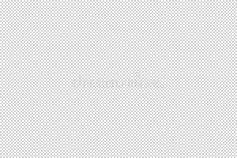 Przezroczystości szachownicy siatki 20x20 piksle royalty ilustracja