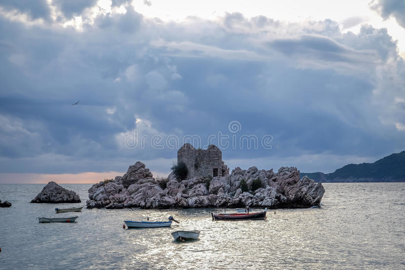 Przno Harbour royalty free stock images