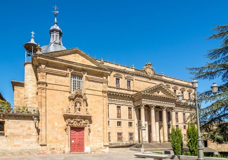 Przy Anaya miejscem Salamanca w Hiszpania fotografia stock
