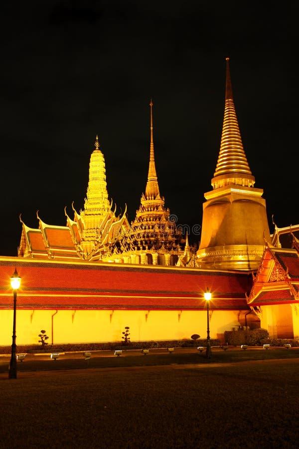 Przy Bangkok królewska świątynia, Tajlandia. obrazy stock
