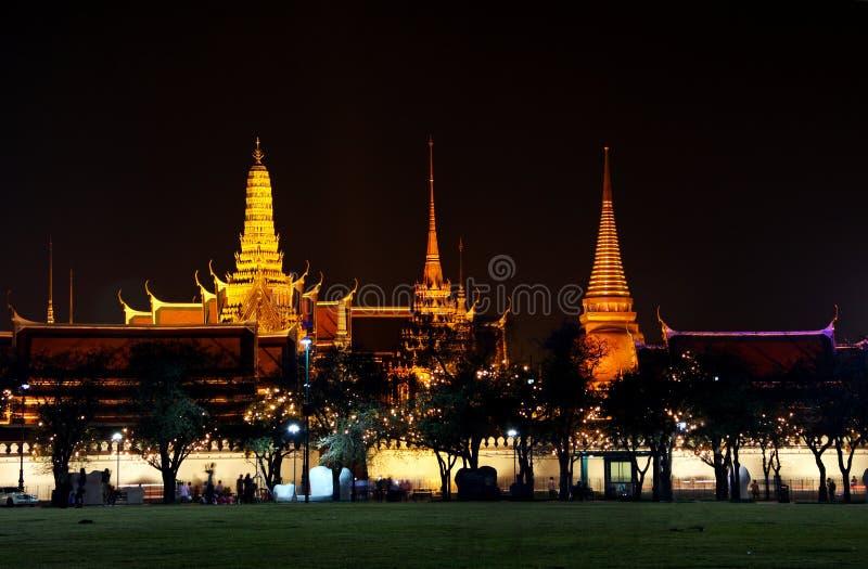 Przy Bangkok królewska świątynia, Tajlandia. zdjęcie stock
