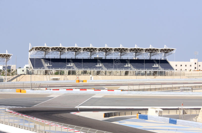 Przy BIC uniwersytecka Trybuna, Bahrajn fotografia royalty free