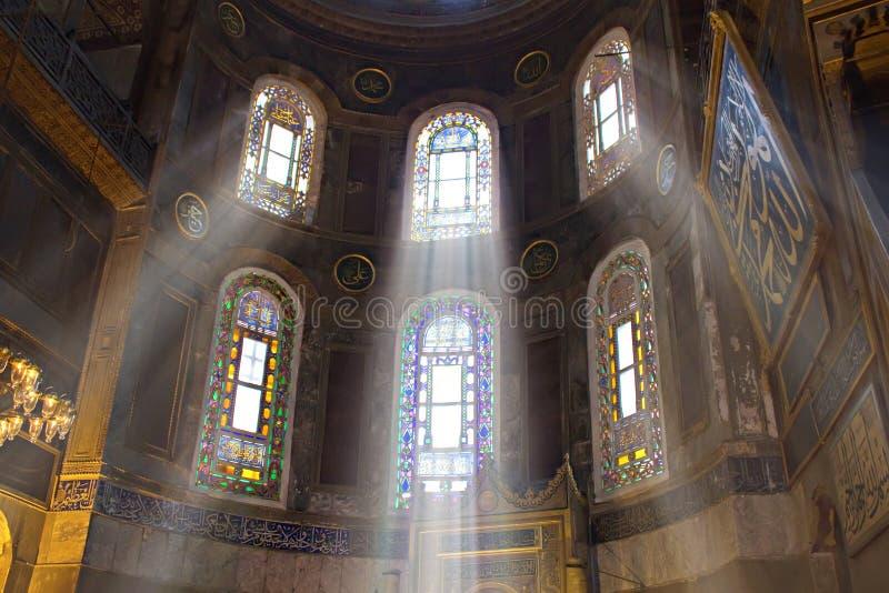 Przy Istanbuł Hagia Meczet Sophia zdjęcie stock