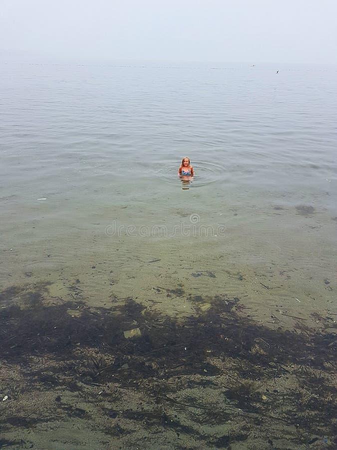 Przy jeziorem obraz royalty free