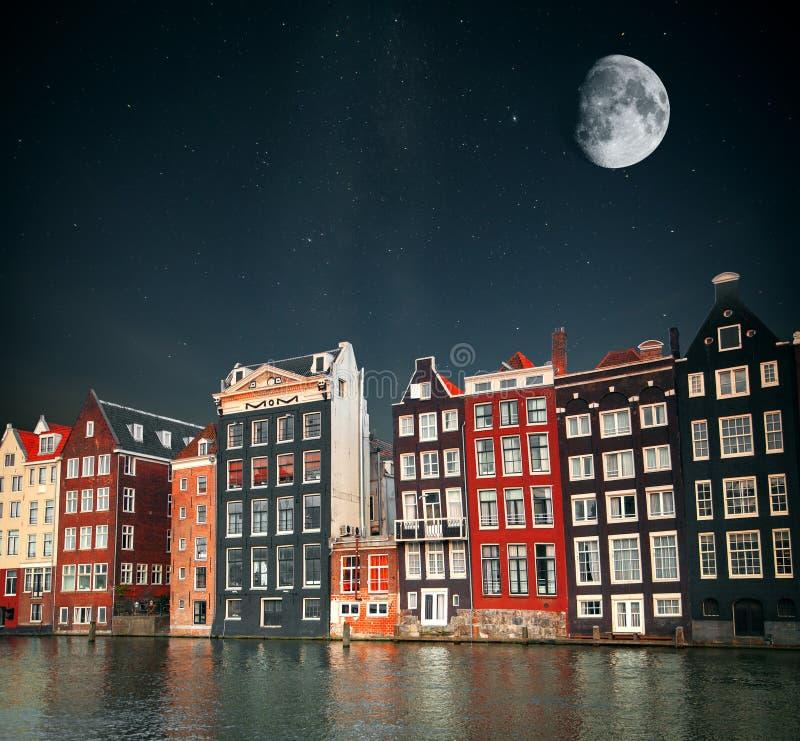 Przy nocą, pod światłem gwiazdy zdjęcia stock