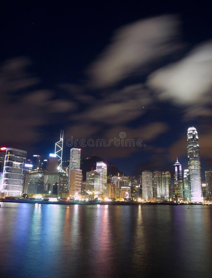 Download Przy Noc Hong Kong Punkt Zwrotny Zdjęcie Stock - Obraz: 27287618