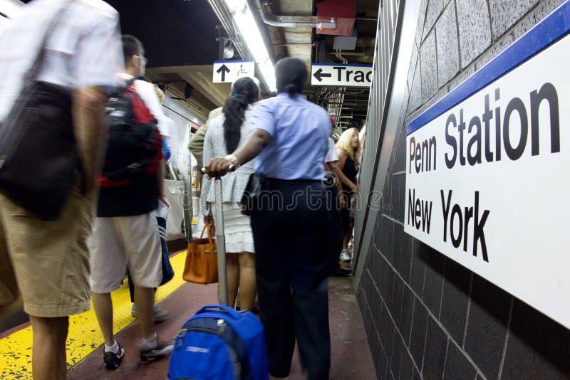PRZY Penn Nyc Metro zdjęcie royalty free