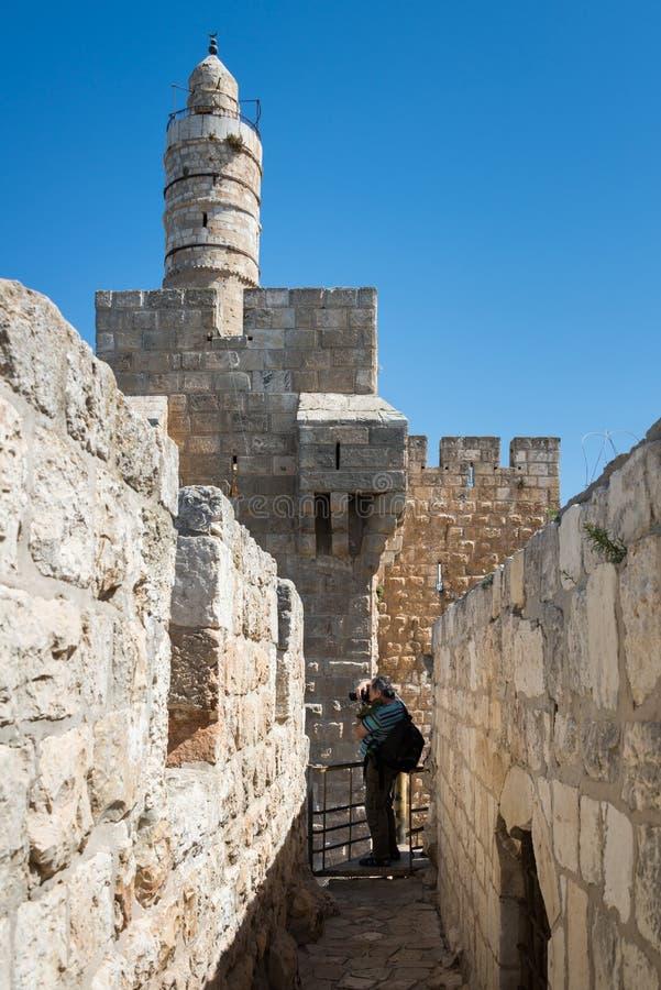 Przy Ramparts spacerem w Jerozolima fotografia royalty free