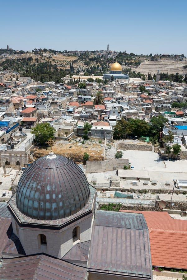 Przy Ramparts spacerem w Jerozolima zdjęcia stock