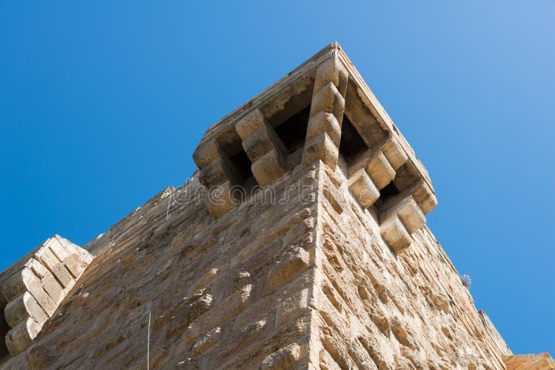 Przy Ramparts spacerem w Jerozolima obraz stock