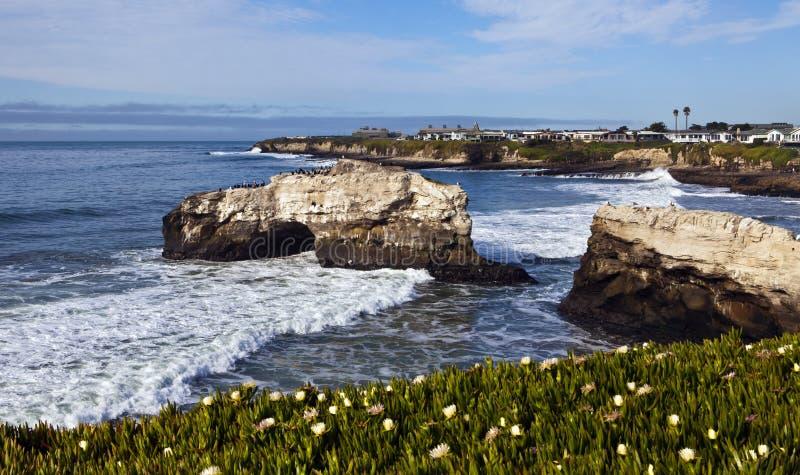 Przy Santa naturalny Most Cruz zdjęcie royalty free