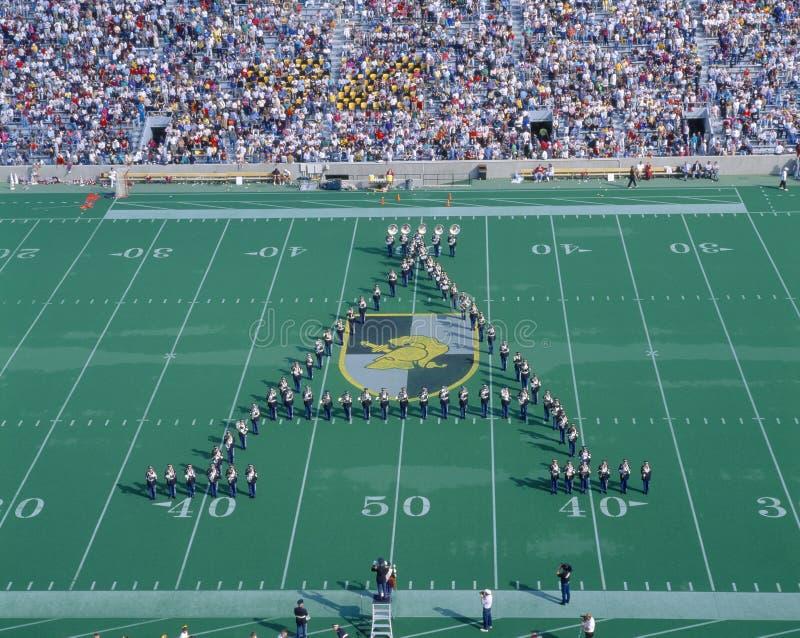 Przy West Point Michael Stadium, Wojsko v Lafayette, Nowy Jork zdjęcia royalty free