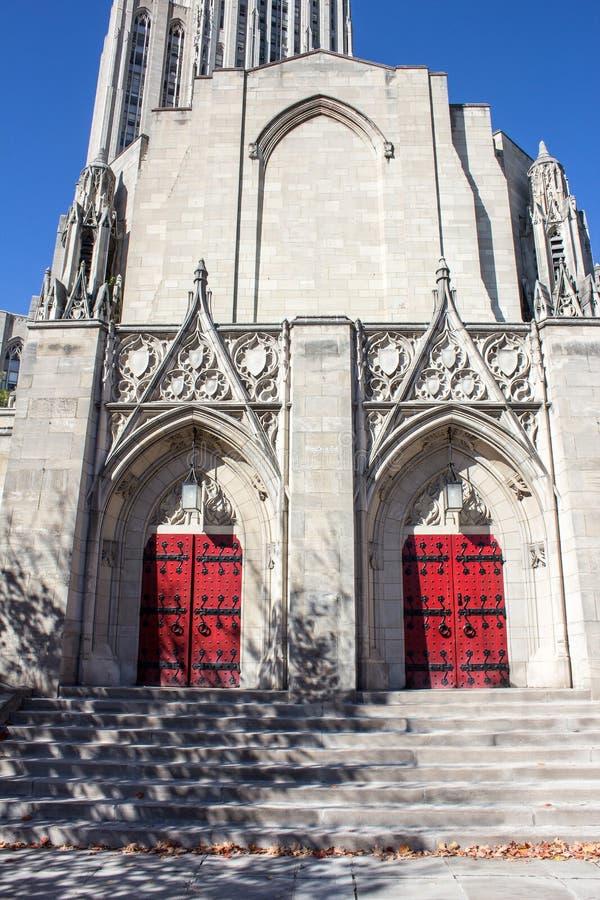 Przybrani Pamiątkowi drzwi i szczyty zdjęcie royalty free