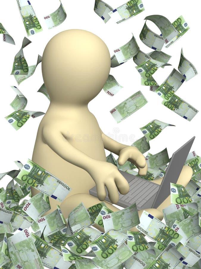 Download Przychodów internety obraz stock. Obraz złożonej z laptop - 13330809