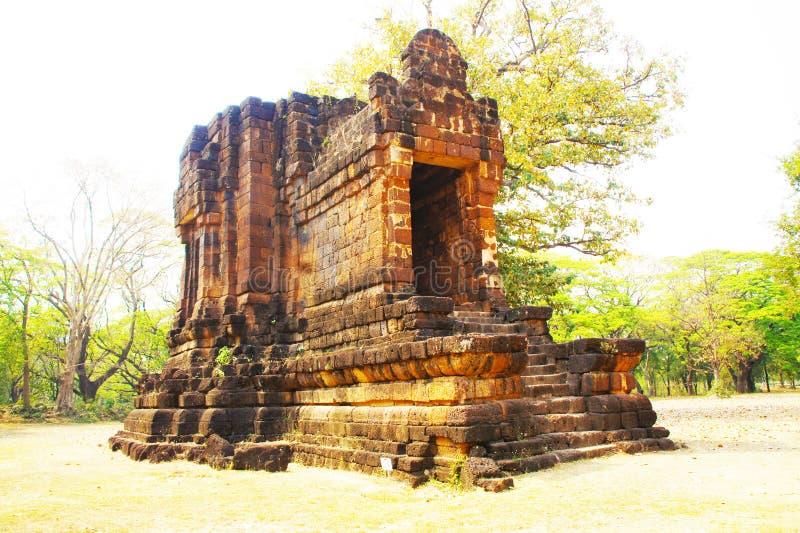 Przyciągania w Sukhothai Dziejowym parku fotografia royalty free