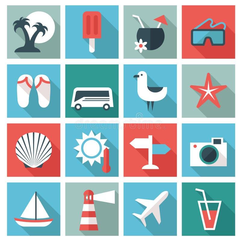 przycinający cyfrowych dróg ikon zawierać ilustracyjnego zadrapanie podróżuje ilustracja wektor