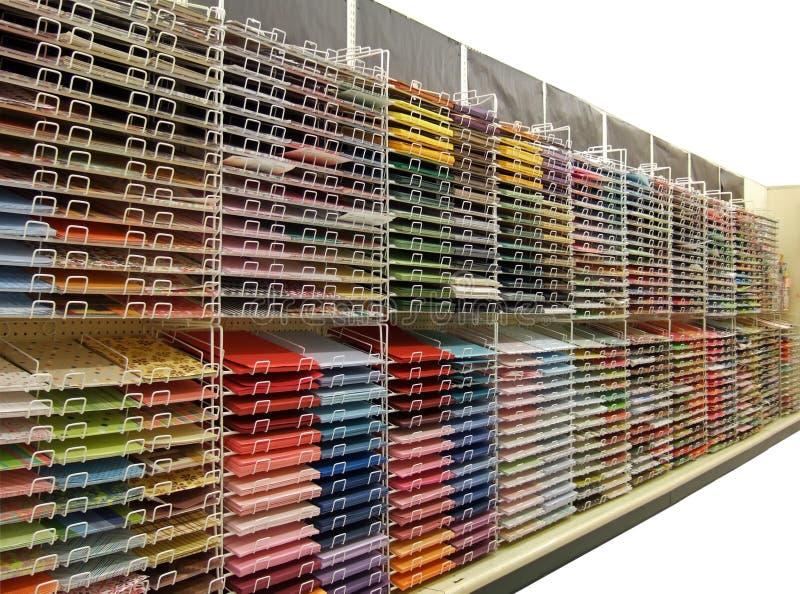 przycinanie odizolowane kolorowego papieru album z drogi obraz royalty free