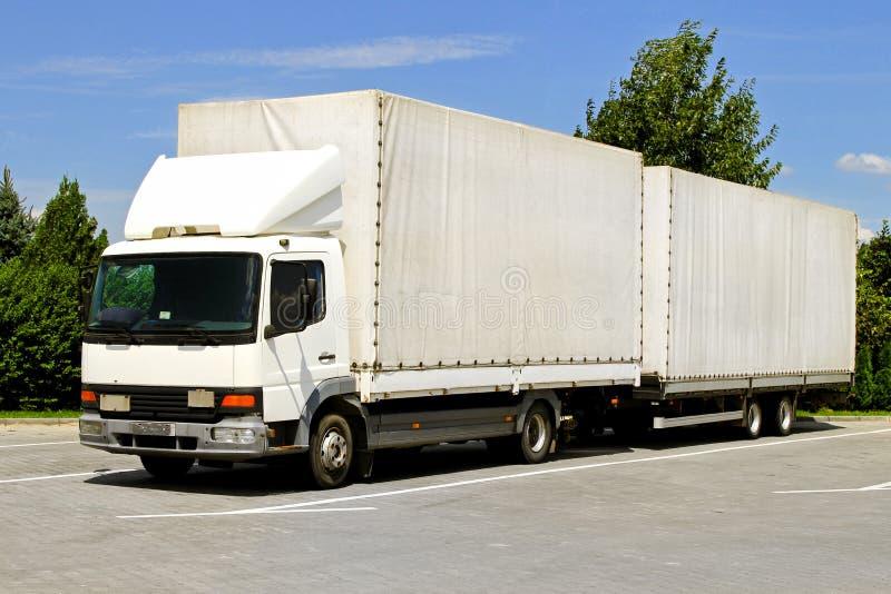 przyczepy ciężarówka fotografia stock