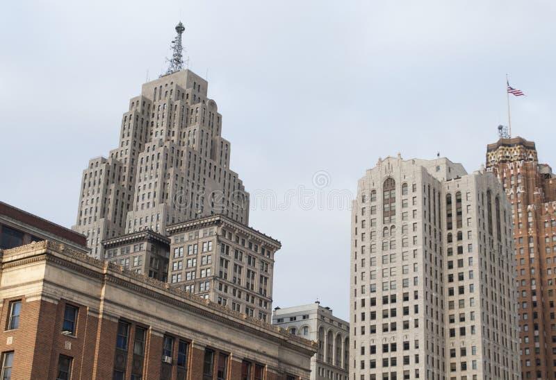 W centrum budynki zdjęcia royalty free