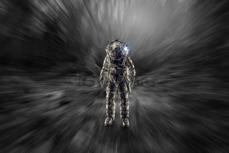 Przygoda kosmita Mieszani środki fotografia stock
