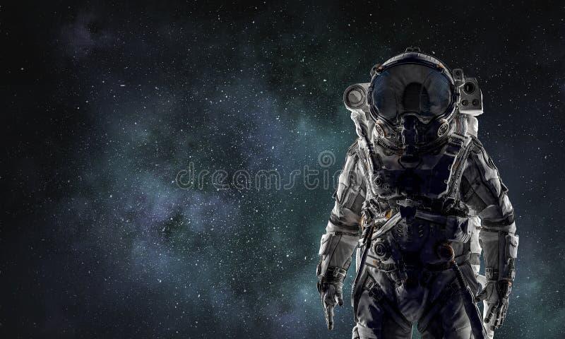 Przygoda kosmita Mieszani środki zdjęcie stock