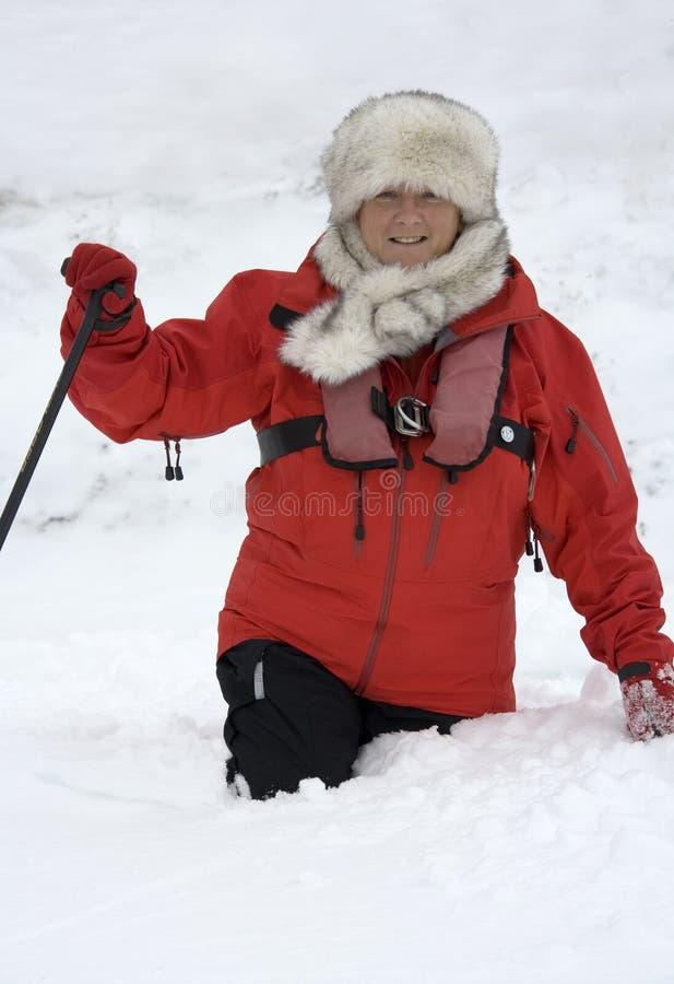 przygody Greenland turysta obrazy stock