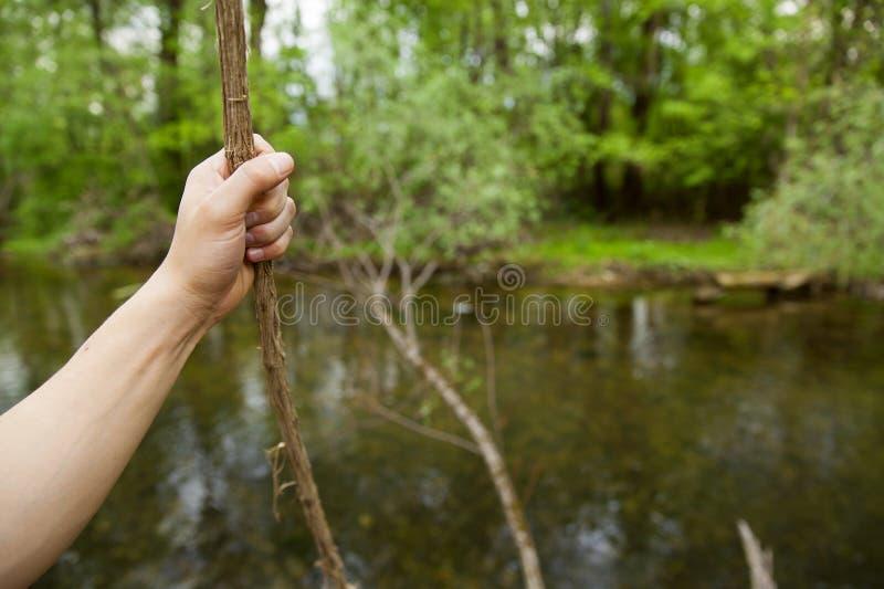 Przygody podróży natury pojęcie zdjęcia stock