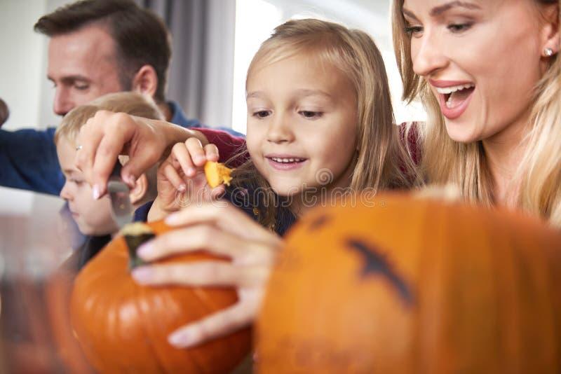 Przygotowania do Halloween obraz stock