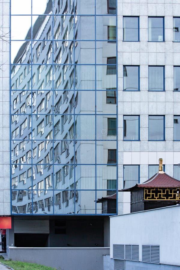 Przygotowania okno w architekturze fotografia stock
