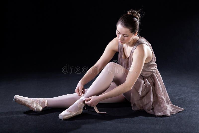 Przygotowanie dla dancingowej sztuki zdjęcia royalty free
