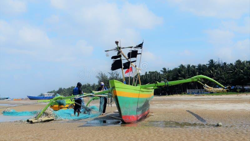 Przygotowywać łódź zdjęcie royalty free