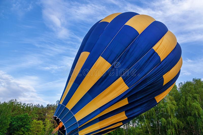 Przygotowywać balon dla wodowanie obrazy royalty free