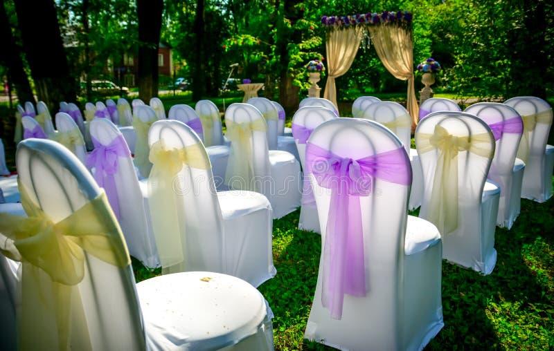 Przygotowywać dla ślubu fotografia royalty free