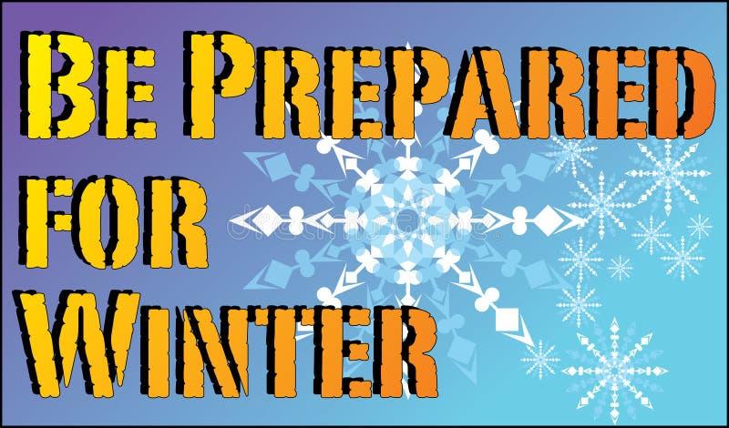 Przygotowywa dla zimy ilustracji