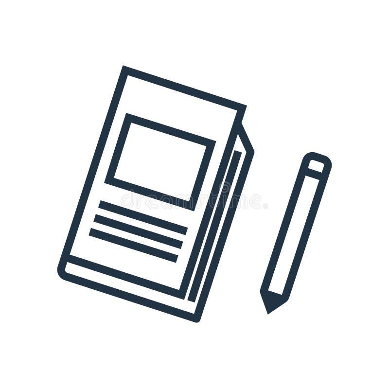 Przygotowywa ikona wektor odizolowywającego na białym tle, przekładnia znak ilustracja wektor