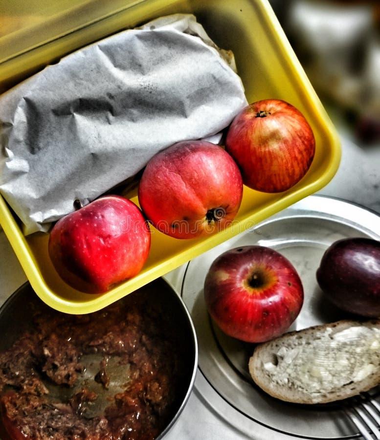 Przygotowywa lunch obrazy royalty free