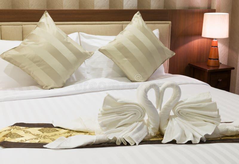 przygotowywający sypialnia goście obrazy stock