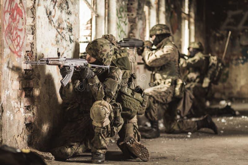 Przygotowywający umierać dla ich kraju obraz stock